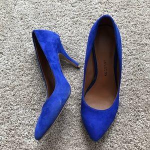 Chinese Laundry blue stilettos size 7.5